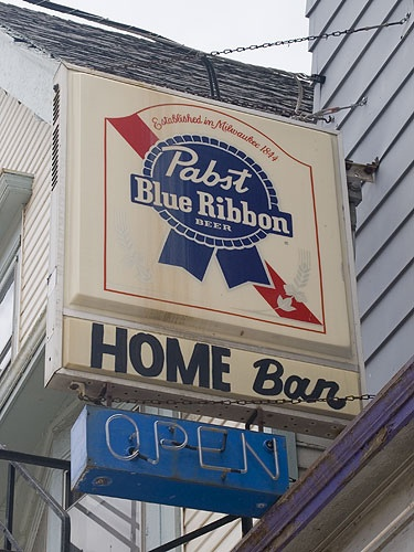 The Home Bar in Bay View (Milwaukee), WI.