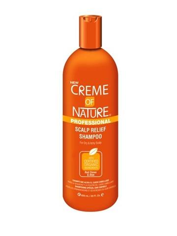Ce shampooing, spécial cuir chevelu, hydratant et démêlant au trèfle rouge et à l'aloès pour le cuir chevelu sec et irritant de la marque Creme of Nature. Nettoie en douceur le cuir chevelu et réduit les squames, tout en l'hydratant. Cette formule hydratante laisse les cheveux doux et soyeux avec une brillance incroyable.  Disponible sur www.tribuebene.fr