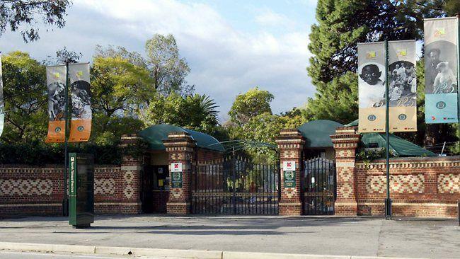Entrance to the Adelaide Zoo, South Australia