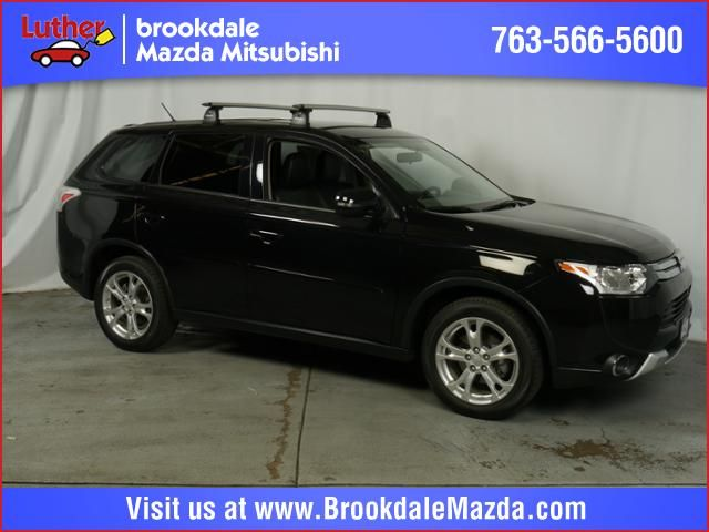 Pre-Owned 2015 Outlander for sale in Brooklyn Park, MN at Luther Brookdale Mitsubishi dealership. 2015 Mitsubishi Outlander 4WD  SE SUV. Used Mitsubishi for sale Minneapolis. Mitsubishi Minnesota dealership. AWD Black SUV for sale Twin Cities. >> Learn more.