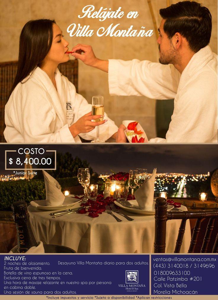 Una oportunidad única para escapar de la rutina y disfrutar lo que te ofrece Villa Montaña Hotel & spa. 😌  Informes: 01 800 963 3100  #HotelVillaMontaña
