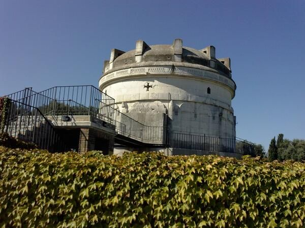 @Living Ravenna: #TheGreatBeauty in Italy is everywhere #Romagna #Ravenna Theodoric's Mausoleum