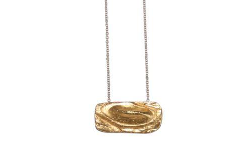 Nordic Croco Gold Necklace