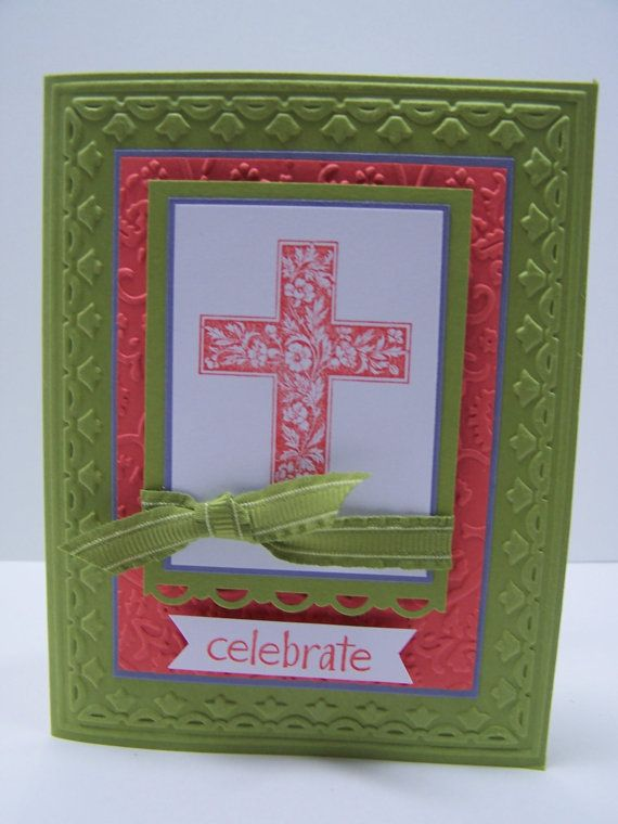 Stampin up Christening/ confirmation/ communion card