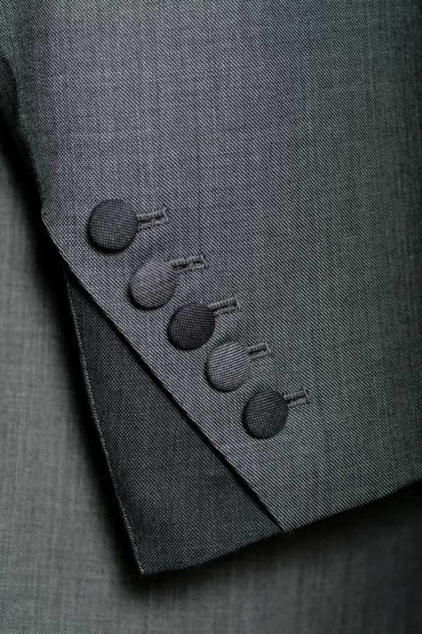 Cuff detail - Savile row suit