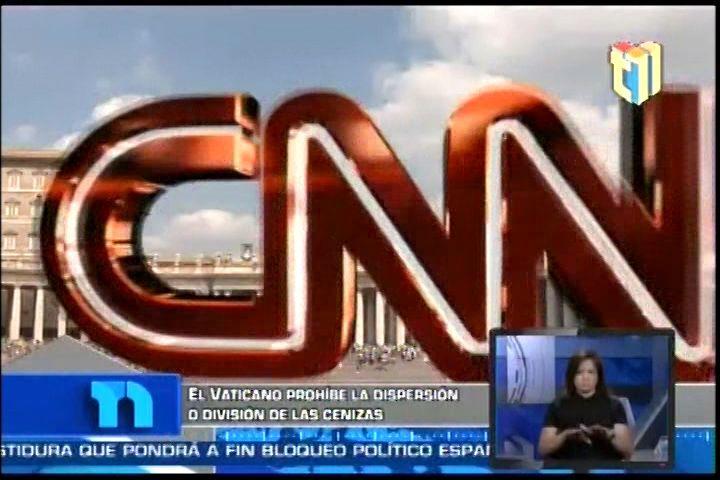 Resumen De Noticias Internacionales de CNN para Telenoticias: Tensión en Venezuela,  Vaticano Prohibe Dispersión o división de Cenizas y Más…