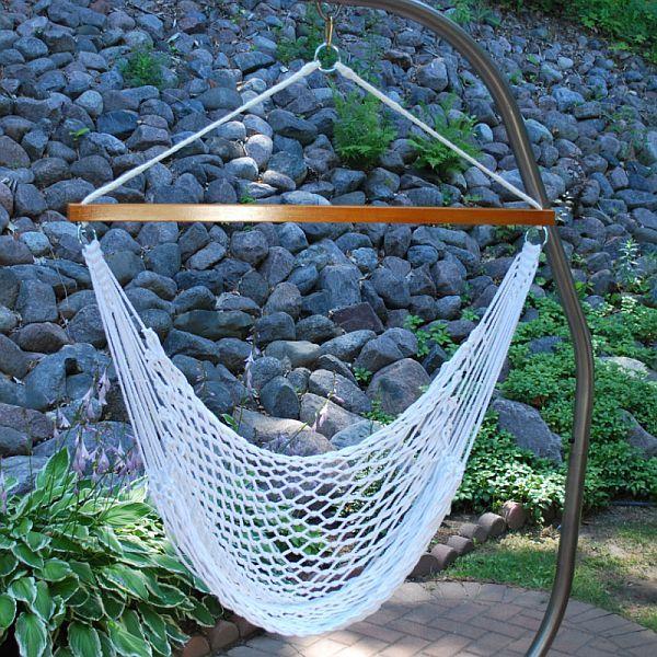 rope hammock chair diy 1