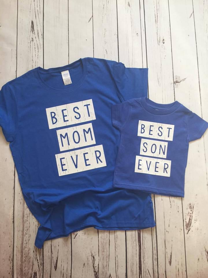 Mommy & Me Matching Shirts ~ Mommy And Son ~ Mom ~ Son ~ Matching Shirts ~ Family Matching ~ Toddler Boy ~ Mama ~ Son ~ Boy ~ Baseball Tees by CutFromTheHeart on Etsy