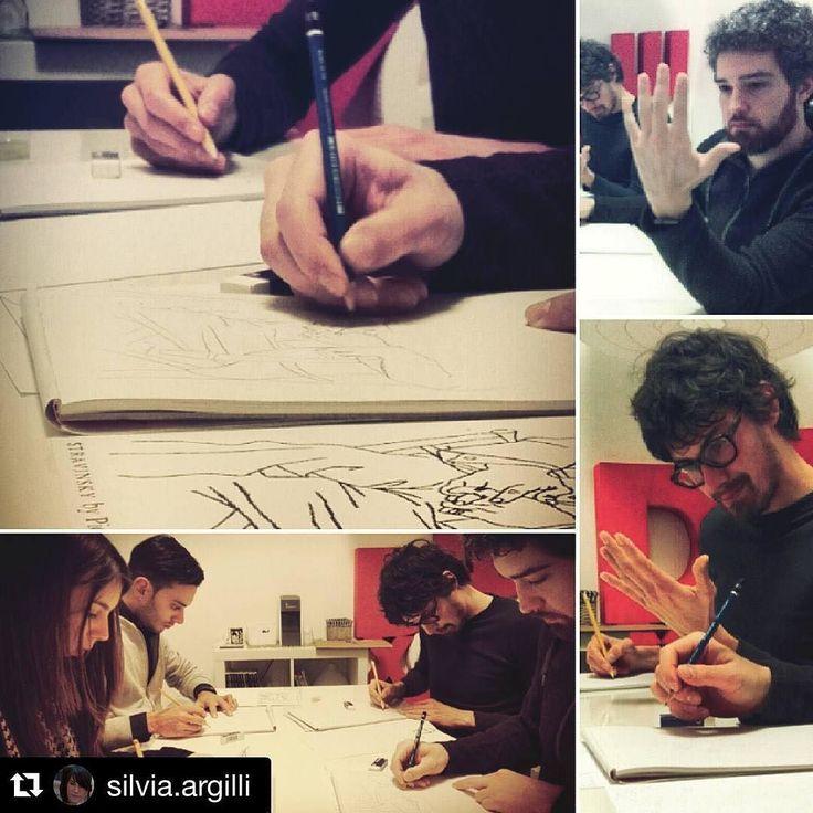 @silvia.argilli #twitter  Disegnare con la parte destra del cervello/ Lesson 2