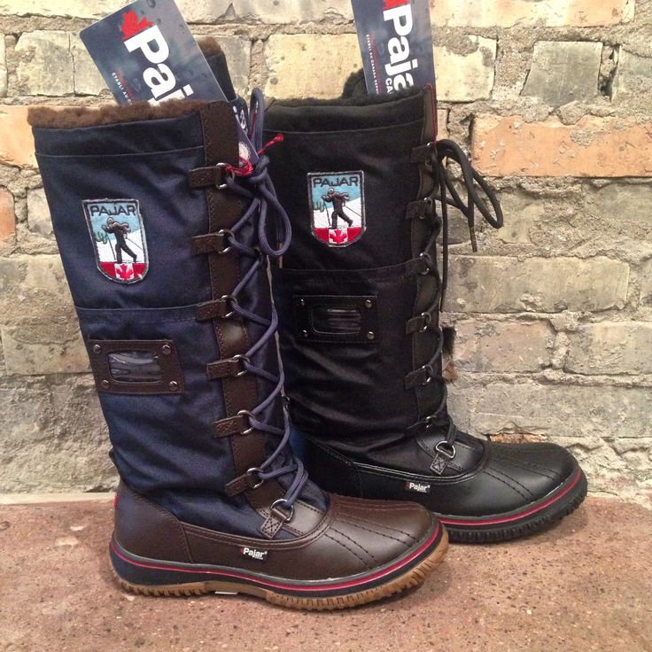 Now these are some heavy duty, women's #snowboots by #pajar #staywarmmyfriends