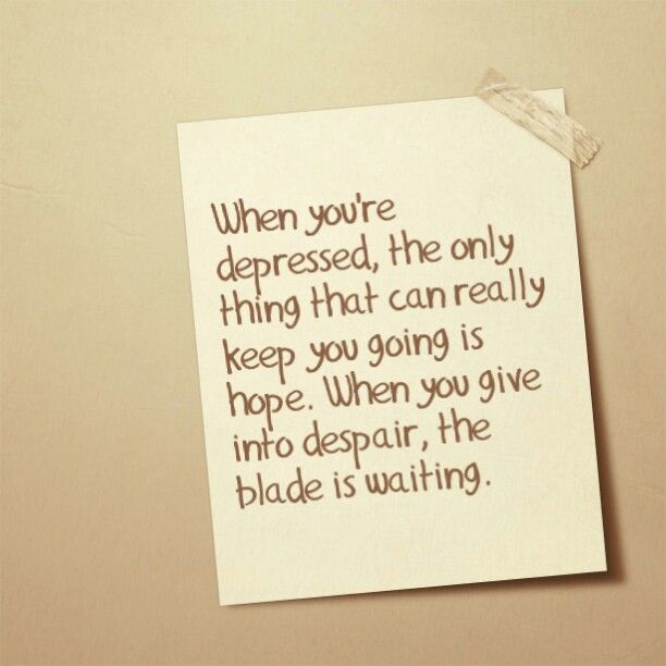 Emo Quotes About Suicide: #hope #self-harm #despair #cutting
