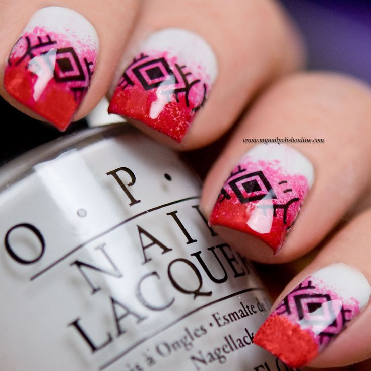 United in Pink - http://www.mynailpolishonline.com/2017/10/nail-art-2/united-in-pink/