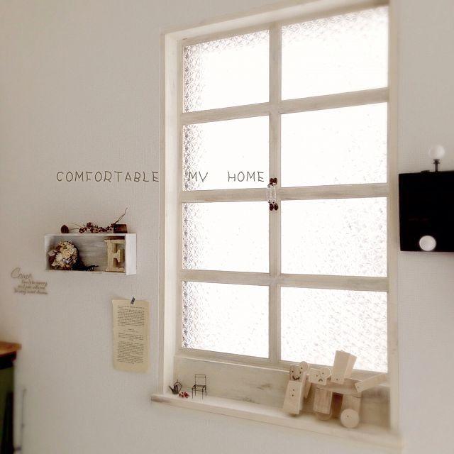 セリアフレームでインプラス風窓枠DIY