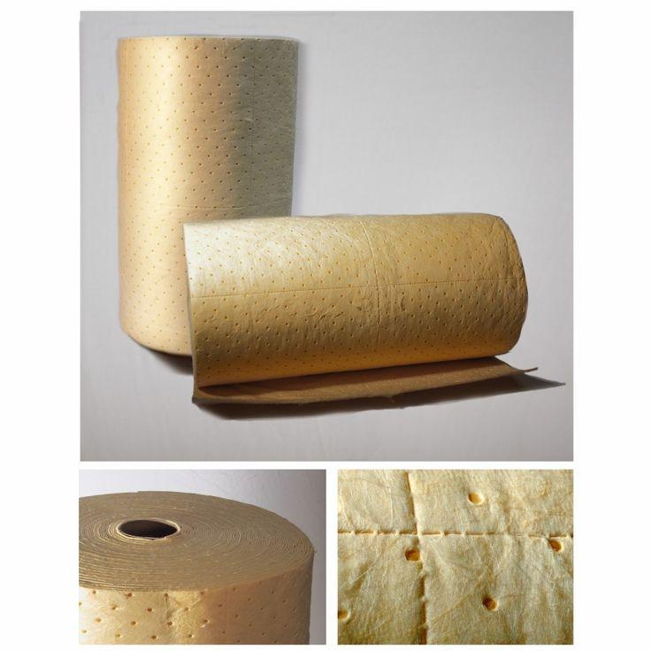 Hazchem Pads and Rolls