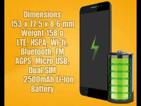 Panasonic Eluga L2 with 5 5 inch IPS QHD Display