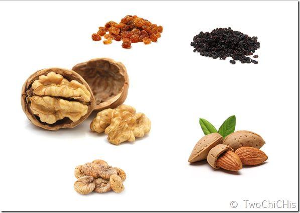 Ξηροί καρποί του Οκτώβρη. October's nuts