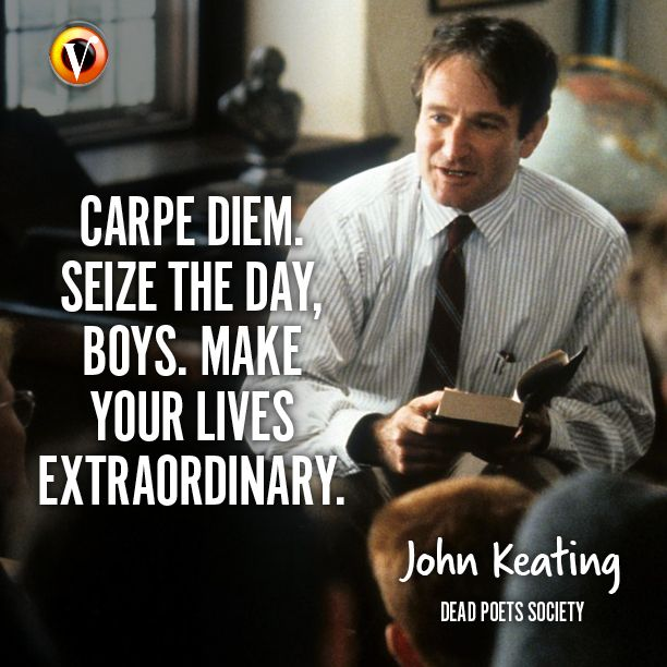 "carpe diem in the movie dead poets society The movie dead poet's society explores the concept of individualism  (ala ""carpe diem"")  you just finished sample character analysis essay - dead poet's."