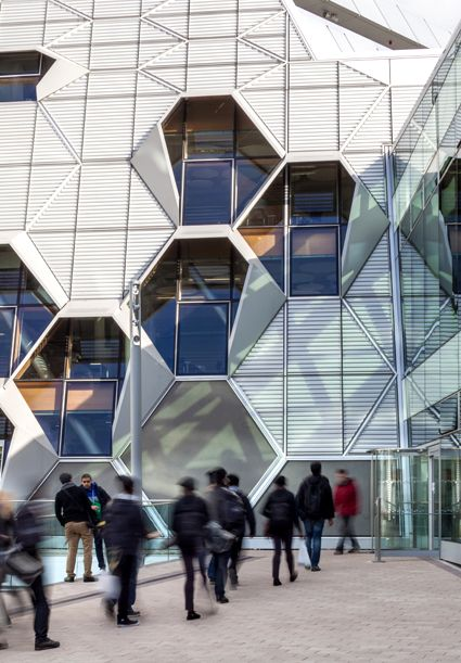 Faculty of Engineering and Computing Building, Coventry University, exterior