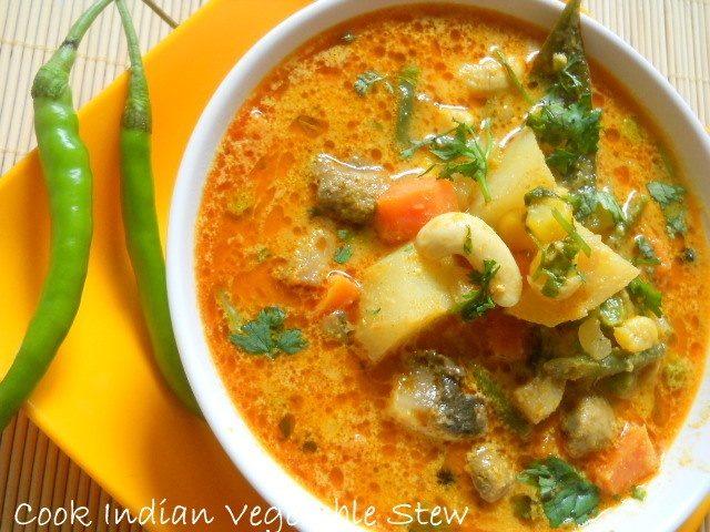 Indian vegetable Stew Recipe | soups and stews | Pinterest