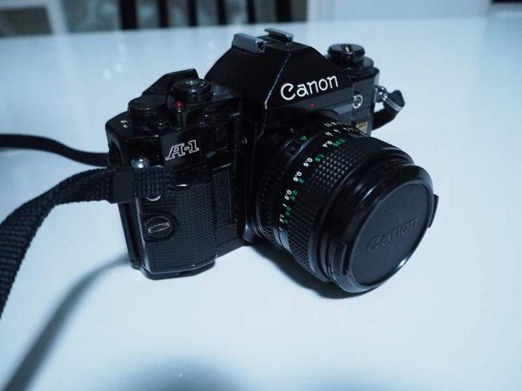 Canon A1 + ottiche