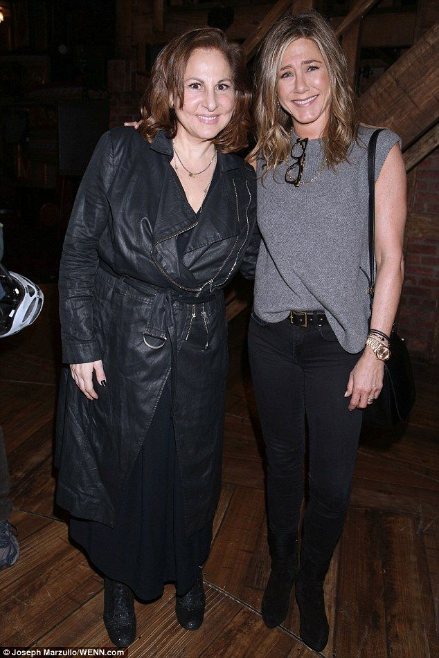 Smart-casual down to a T: The Friends actress was dressed appropriately in a neutral-colou...