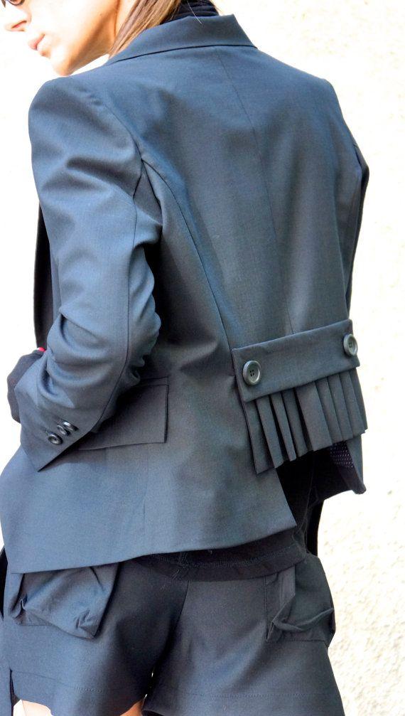 New Black  Stylish Blazer / New Autumn Coat /Black Cold от Aakasha
