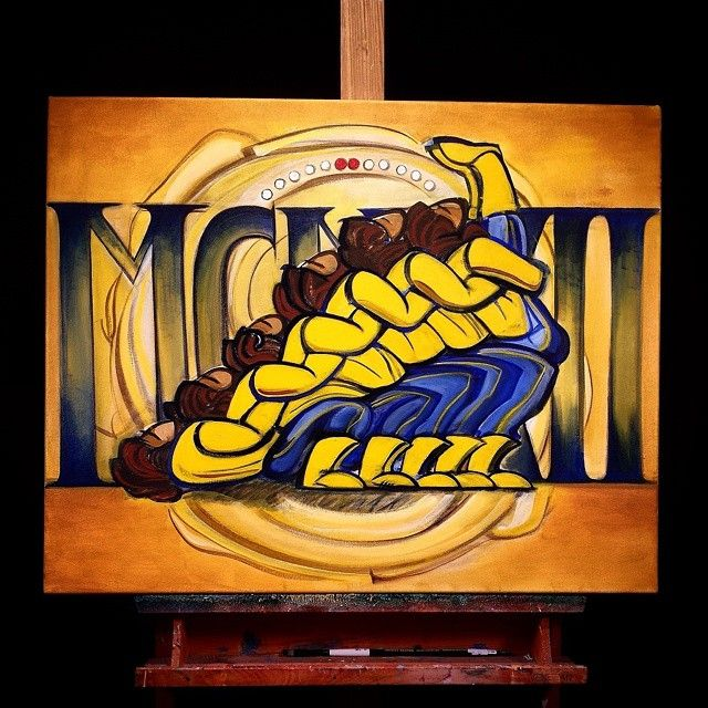 Sigma Gamma Rho art by Tariq Mix
