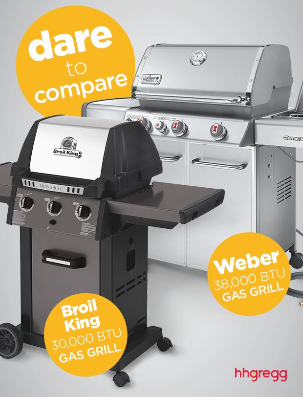 check out our comparison between broil kingu0027s btu gas grill u0026 weberu0027s btu genesis natural gas grill to decide which is right for you - Natural Gas Grill