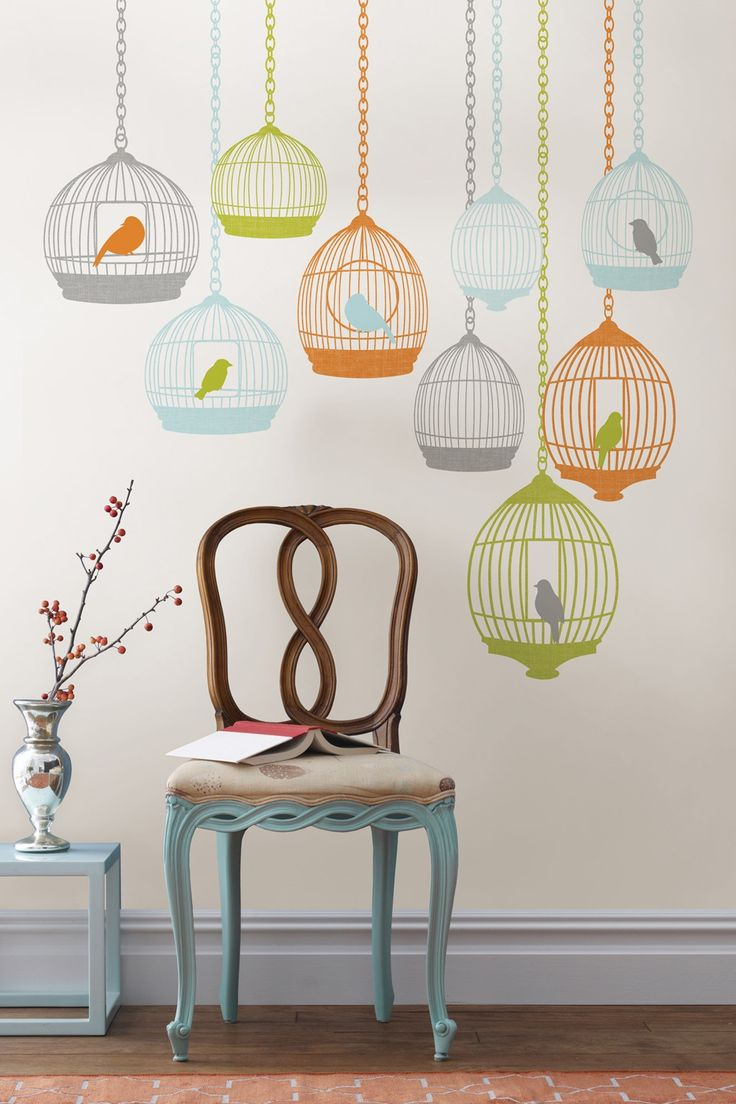 29 best free as a bird images on pinterest drawings home and wall pops st tropez large wall decal kit wall decals at hayneedle