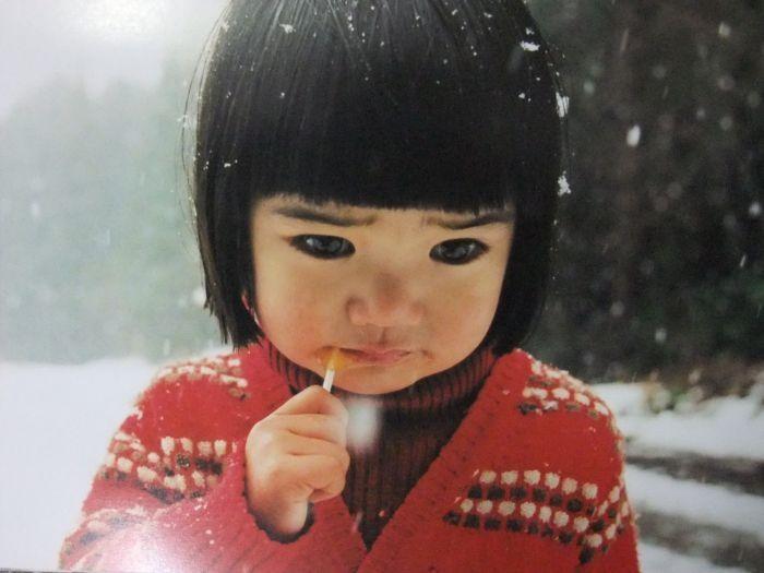 """Mirai-chan"", or Little Miss Future by photographer Kotori Kawashima, her mother."