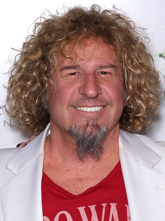 Sammy Hagar, the best redhead / my 1st consort  my honeymoon 1983 I and my husband seen hem at Wings statism in Kalamazoo Mi ! I was hooked from that that day forword !  We have seen him twice in the past years . Love this man!