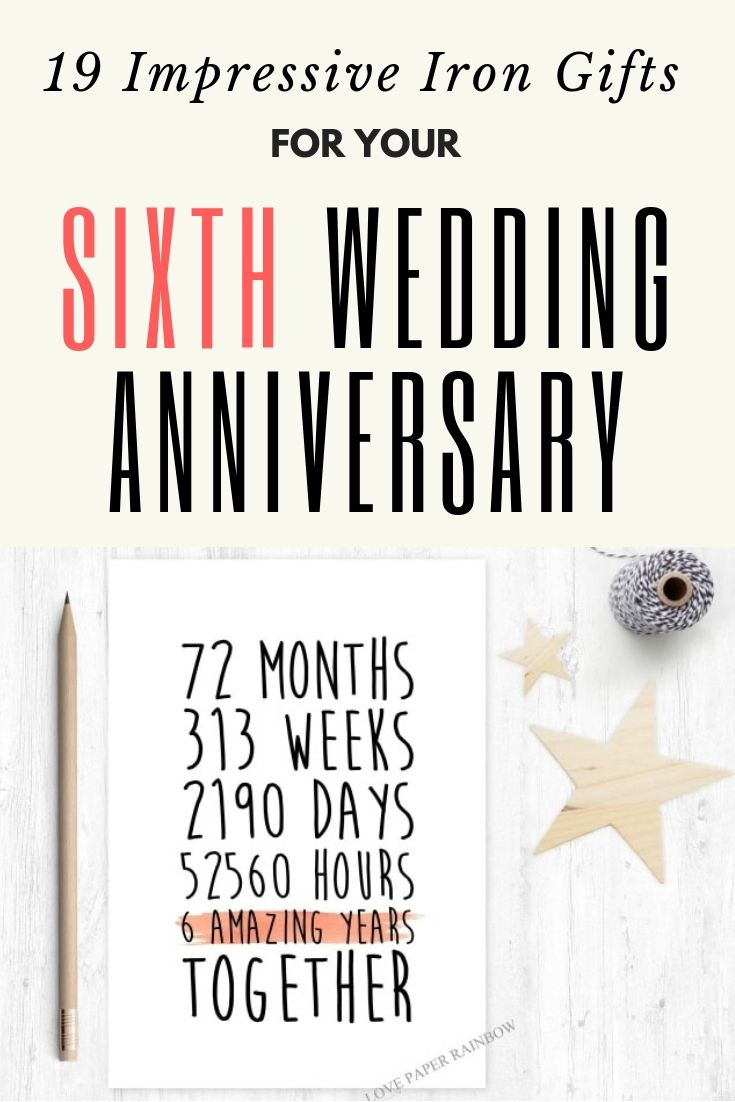 22 Impressive Iron Anniversary Gifts For Your 6th Year Iron Anniversary Gifts 6th Wedding Anniversary Iron Gifts