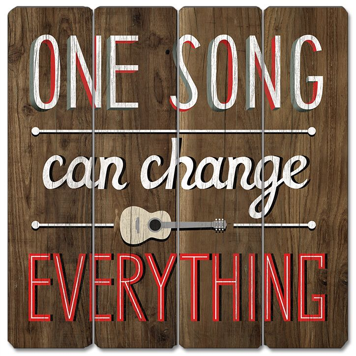 One song can change everything...