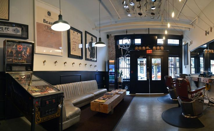 Dominion Barbers - Pacific Solutions Contracting | Barber shop, Modern  barber shop, Salon furniture