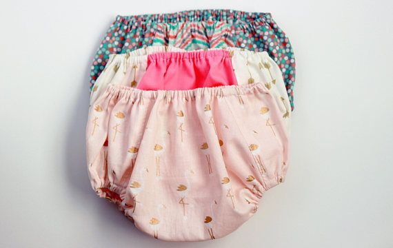 Baby Girl Bloomers, Baby Bloomers, Pink Bloomers, Gold Bloomers, Baby Shower Gift, Gifts for New Mothers, New Baby Girl Gift, 3 Month Girl