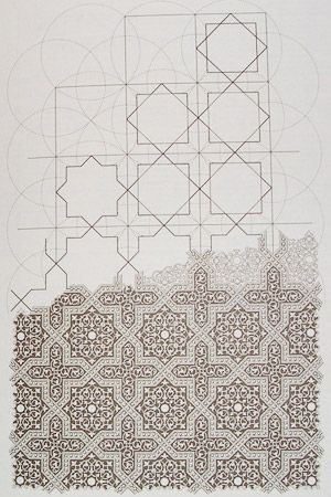 Illustration from Islamic Design: A Genius for Geometry, Daud Sutton, pg 9