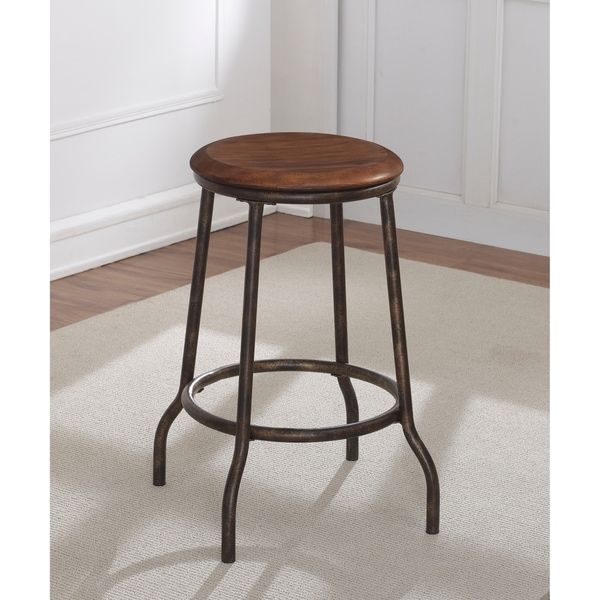 Tasley Backless Metal Counter Stool By Greyson Living Metal