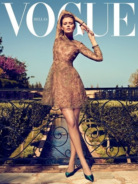 Lovely Dress: Magazine Covers, Hellas June, June 2011, Fashion Photography, Vogue Magazine, Vogue Covers