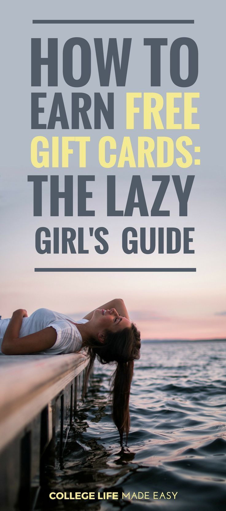 How to Earn Free Gift Cards: The Lazy Girl's Simple Guide – College Budget Tips