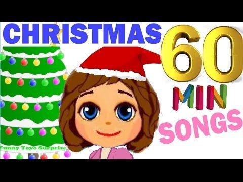 1 Hour BEST Merry Christmas & Happy New Year Popular Songs Carol Cartoon Animation Nursery Rhimes - YouTube