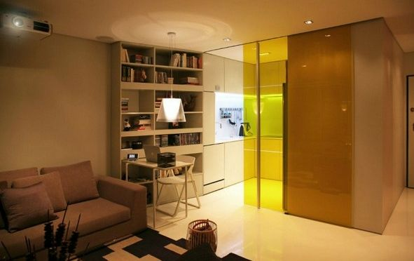 awesome modern apartment decoration