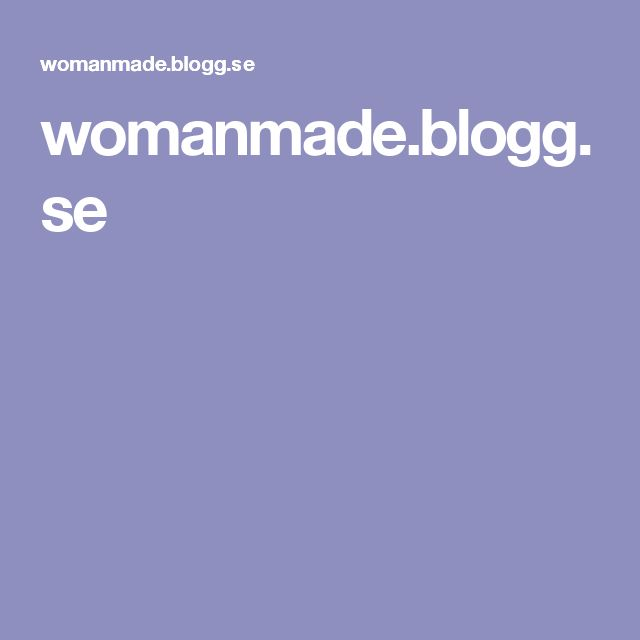womanmade.blogg.se