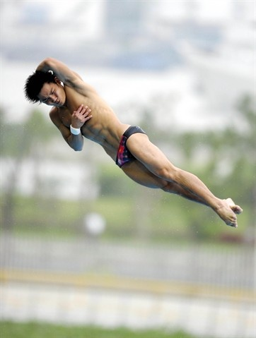 Qiu Bo will compete in his first Olympics in 10m platform. Qiu Bo is the reigning world champion in this event.