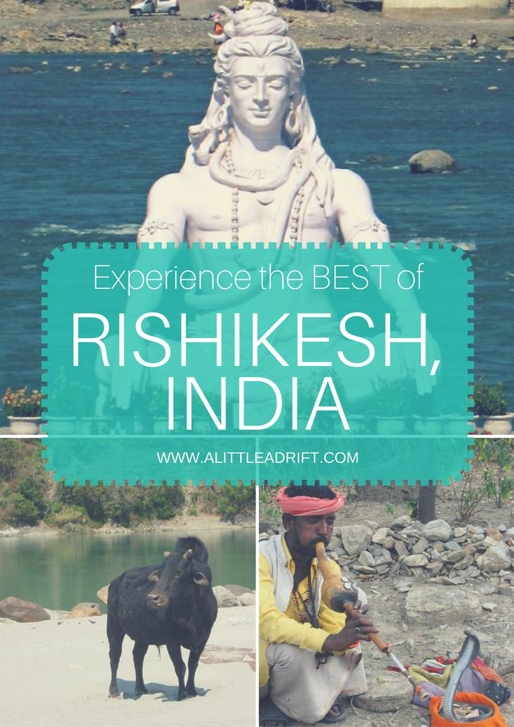 Explore Rishikesh, India -- a rafting and spiritual hotspot on the Mother Ganges.
