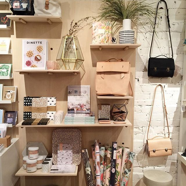 Buk & Nola, retail store display, accessories display, stationary, homeware