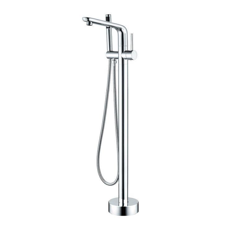 BAI 0655 Freestanding Bathtub Faucet / Polished Chrome Finish