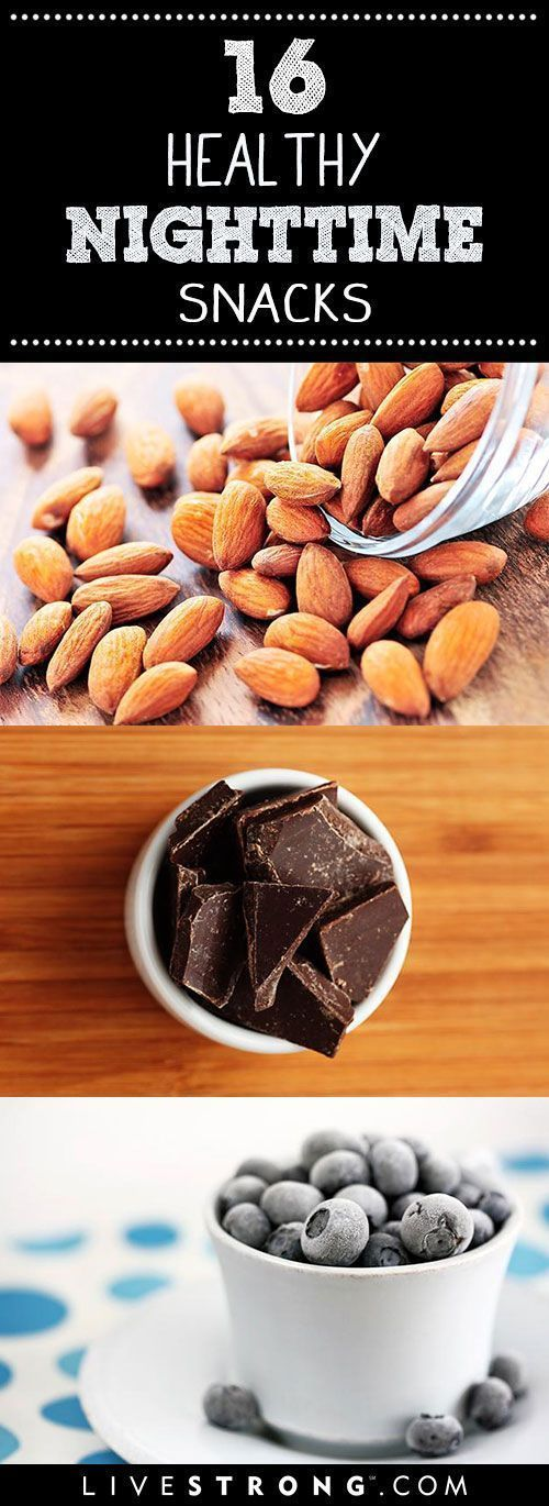 16 Snacks That Are OK to Eat at Night   Eating past 8.p.m. has been known to get a bad rap. In reality the reason you may have gained, or not been able to lose, weight probably has more to do with what you are eating and how much you are eating, rather th