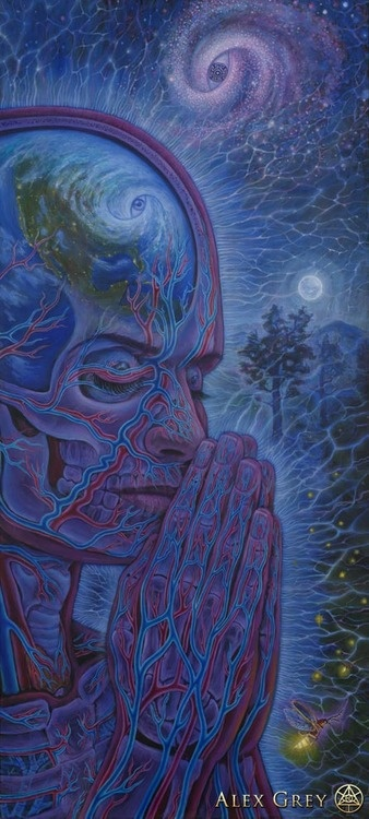 Planetary Prayers - Alex Grey