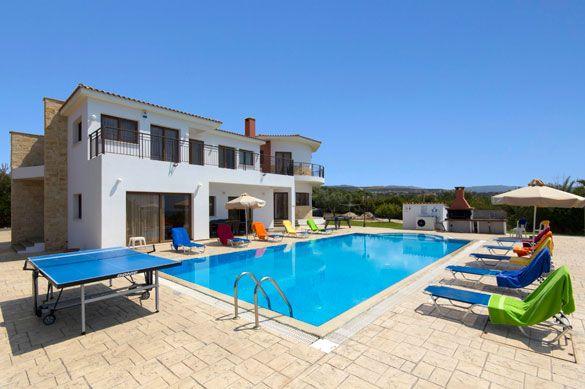 Villa Luxor, Sea Caves, Coral Bay, Cyprus. Find more at www.villaplus.com