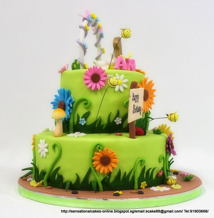 7 Best Birthday Cakes Images On Pinterest